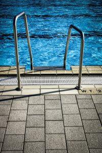 Eingebauter Pool